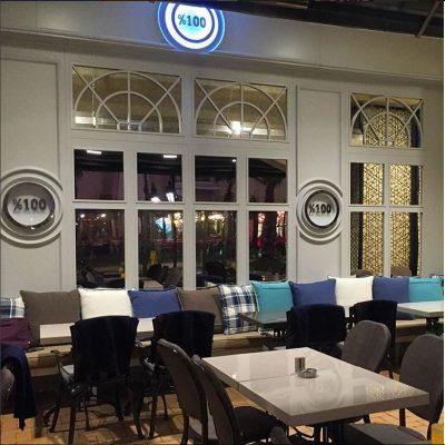 %100 Cafe Mavibahçe Dif Mobilya 6